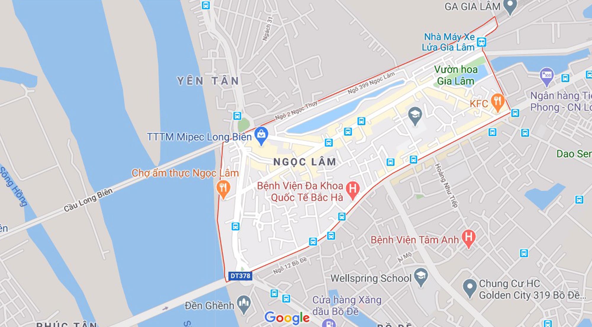 Đường sẽ mở theo qui hoạch ở phường Ngọc Lâm, Long Biên, Hà Nội - Ảnh 1.