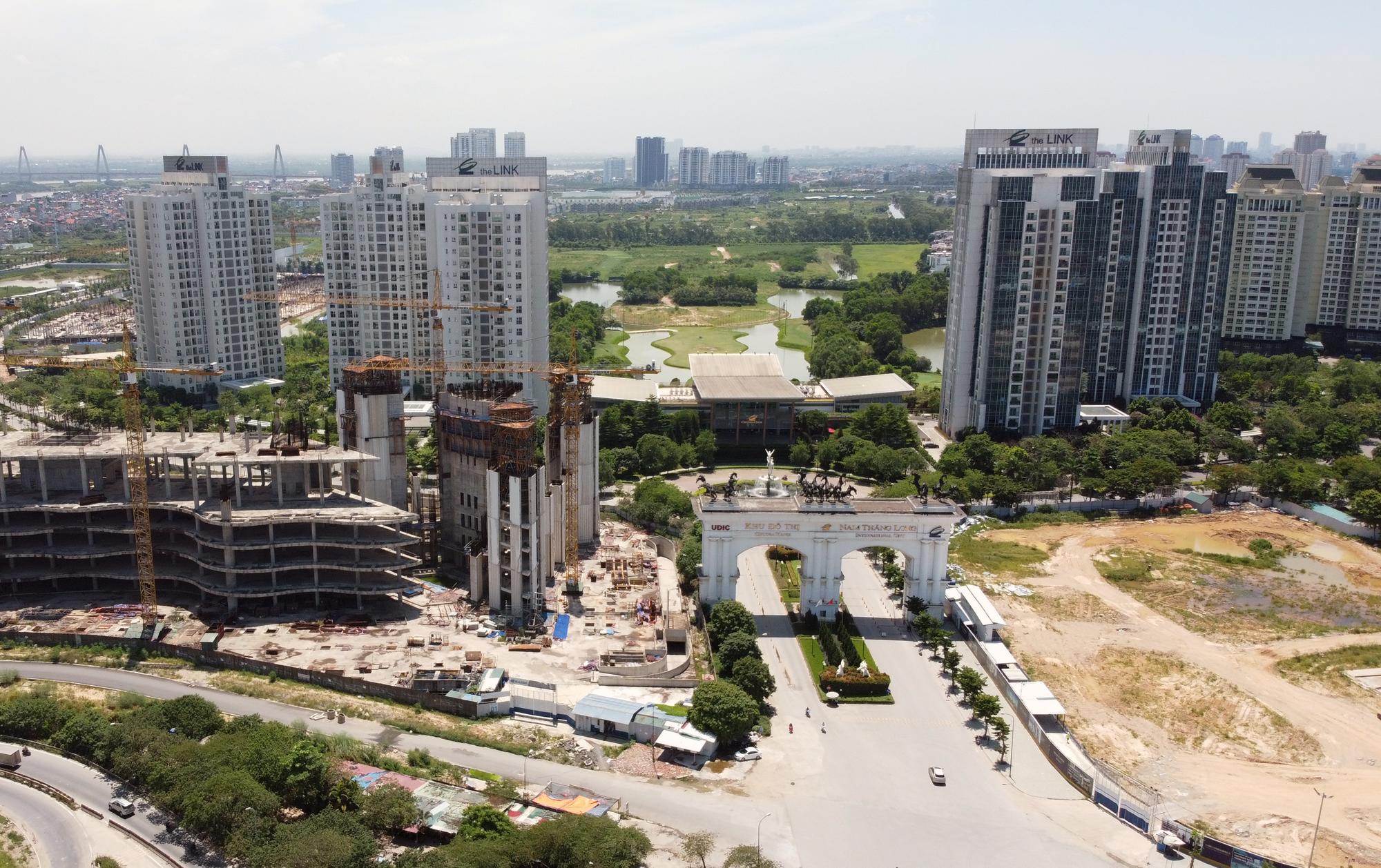 Vành đai 3 trên cao Mai Dịch - Nam Thăng Long sắp thông xe, loạt dự án hết lo 'tắc đường' - Ảnh 13.