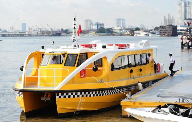 TP HCM: Các tuyến buýt sông hoạt động chưa hiệu quả - Ảnh 1.