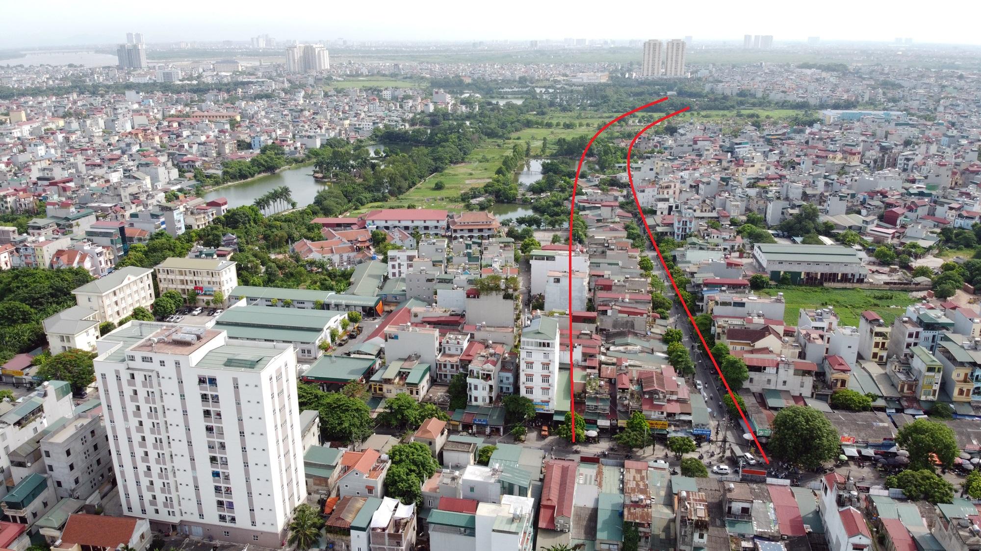 đường sẽ mở theo qui hoạch ở phường Lĩnh Nam, Hoàng Mai, Hà Nội - Ảnh 8.