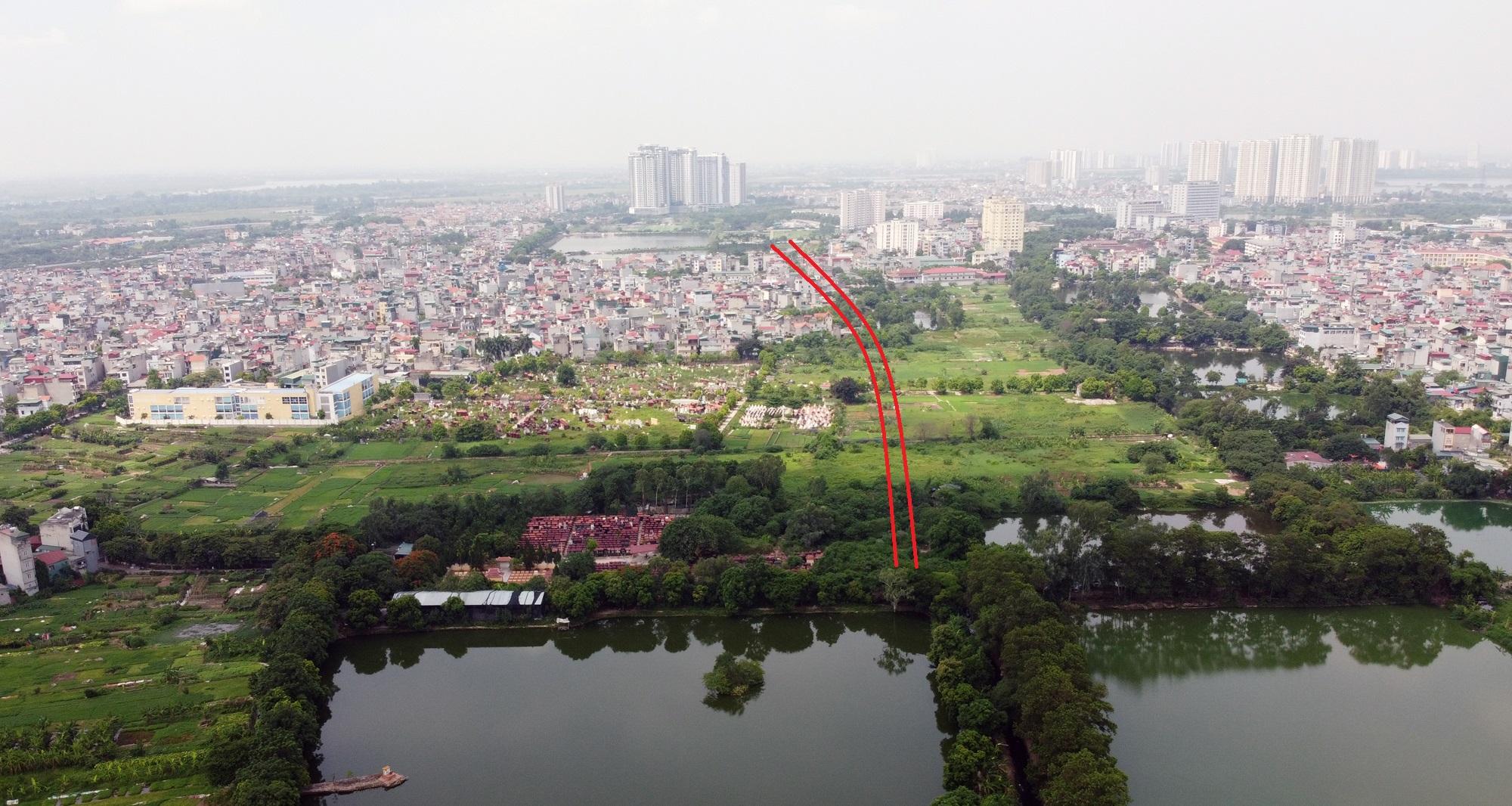 đường sẽ mở theo qui hoạch ở phường Lĩnh Nam, Hoàng Mai, Hà Nội - Ảnh 9.