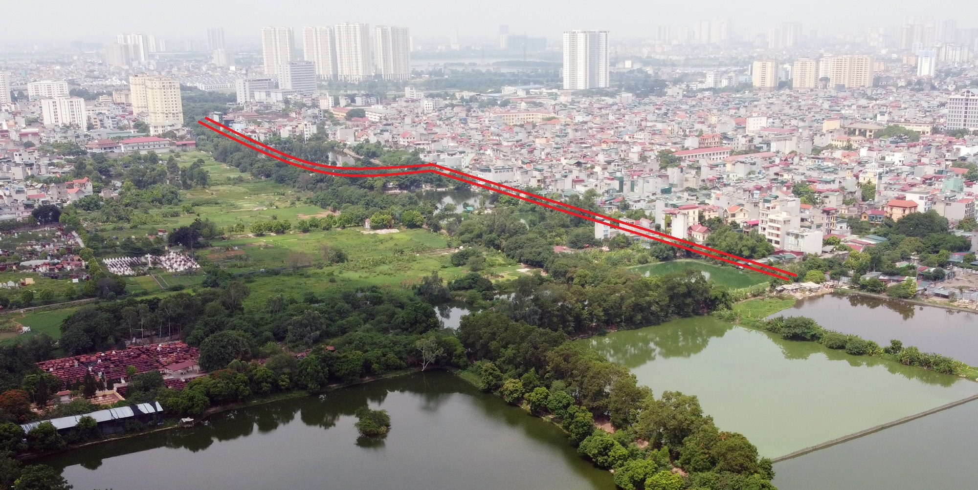Ba đường sẽ mở theo qui hoạch ở phường Lĩnh Nam, Hoàng Mai, Hà Nội - Ảnh 14.