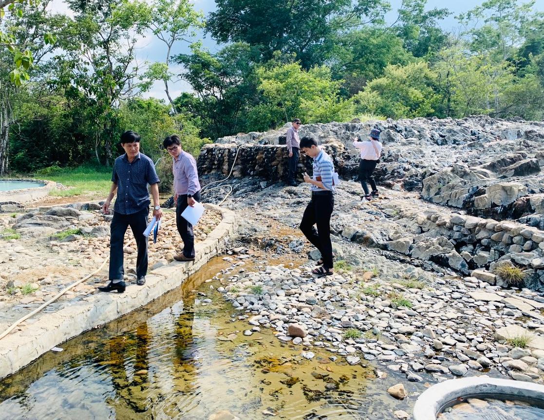 Bị đề nghị thu hồi, chủ đầu tư dự án KDL suối nước nóng Trường Xuân xin kí quĩ cam kết - Ảnh 1.