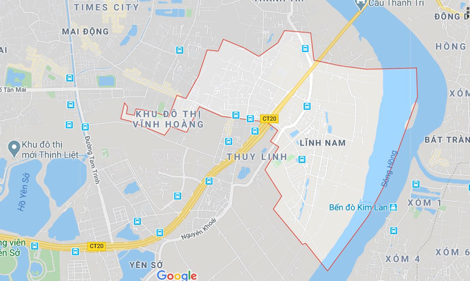 đường sẽ mở theo qui hoạch ở phường Lĩnh Nam, Hoàng Mai, Hà Nội - Ảnh 1.