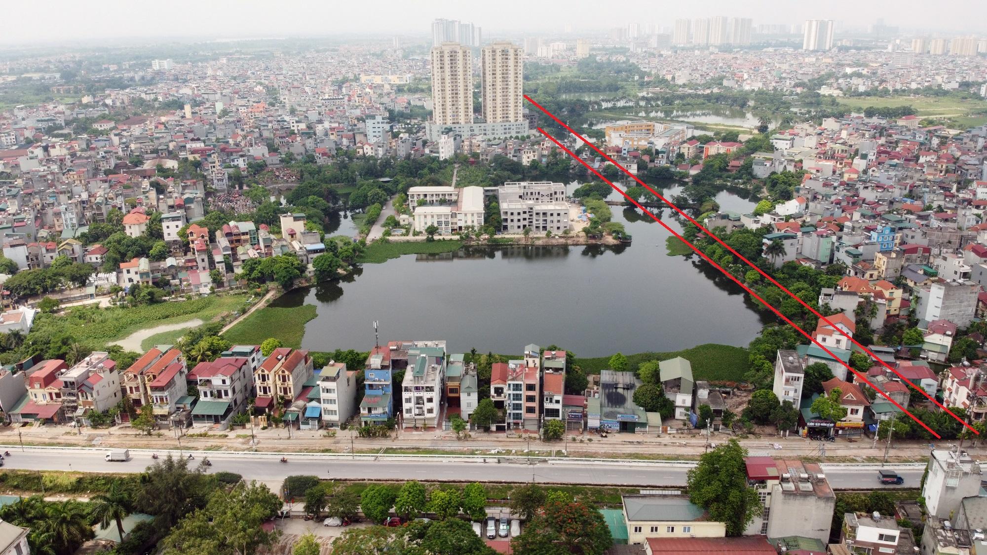 đường sẽ mở theo qui hoạch ở phường Thanh Trì, Hoàng Mai, Hà Nội - Ảnh 3.