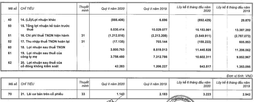 Lãi trước thuế 6 tháng của Vinhomes vượt 15.000 tỉ đồng, dẫn đầu lợi nhuận trên sàn chứng khoán - Ảnh 1.