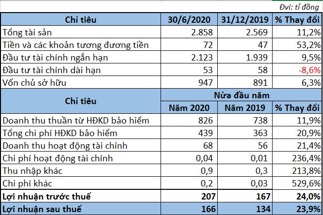 Kết quả kinh doanh các doanh nghiệp bảo hiểm trong 6 tháng đầu năm 2020 - Ảnh 3.