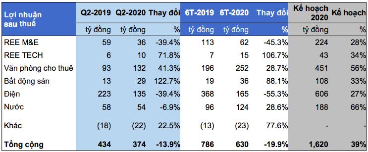 REE: Mảng BĐS kéo lợi nhuận quí II, rót hơn 8.000 tỉ đồng vào các công ty điện và nước - Ảnh 3.