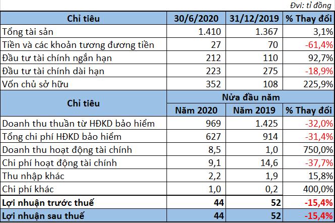 Kết quả kinh doanh các doanh nghiệp bảo hiểm trong 6 tháng đầu năm 2020 - Ảnh 8.