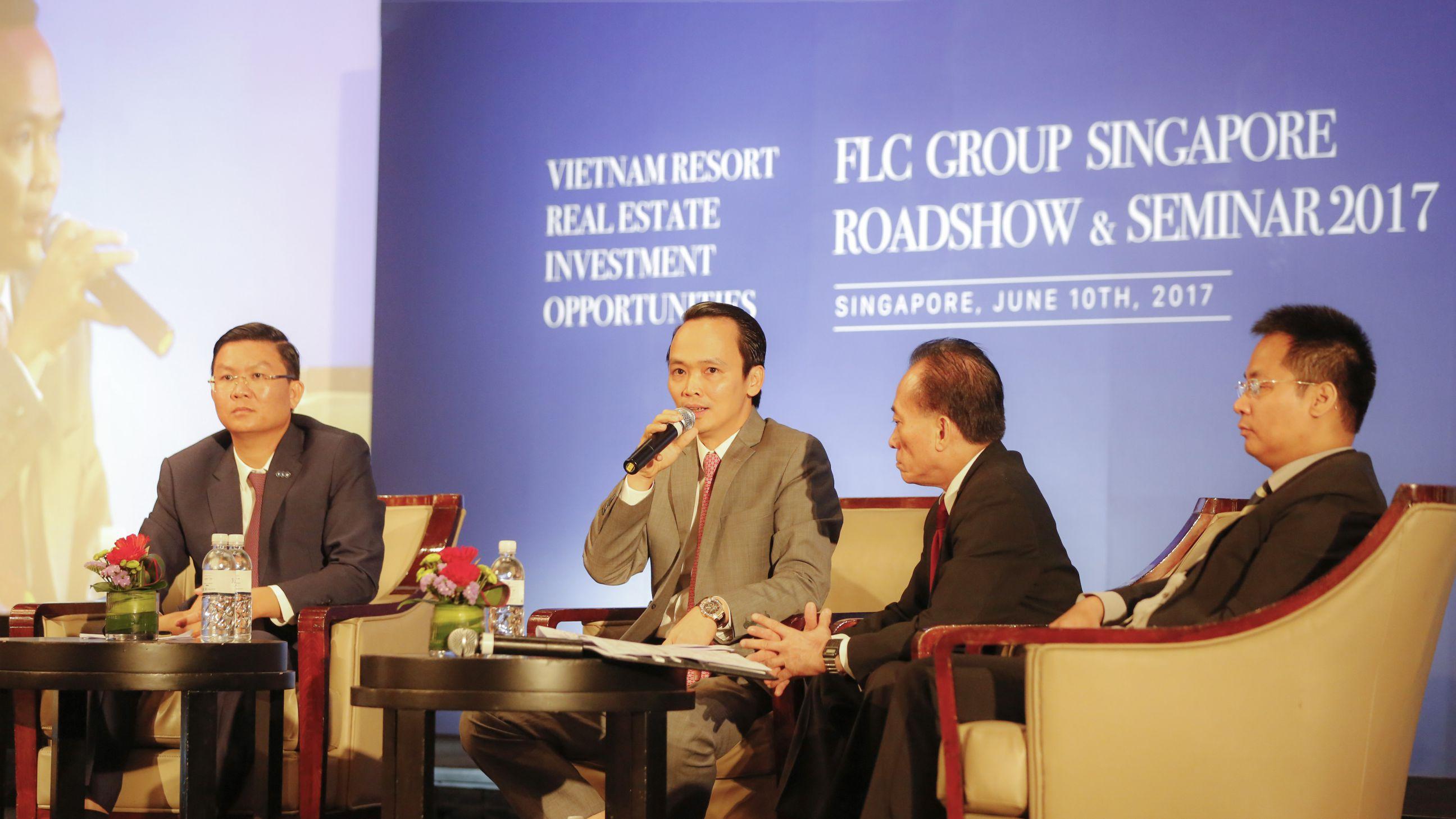 Ông Lê Thành Vinh từ nhiệm Phó Chủ tịch Tập đoàn FLC - Ảnh 2.