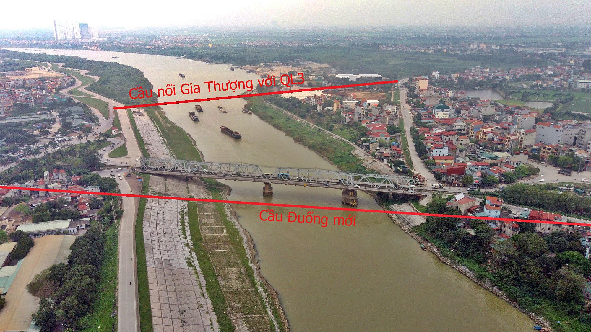 Cầu sẽ mở theo qui hoạch ở Hà Nội: Toàn cảnh vị trí làm cầu Đuống mới - Ảnh 4.