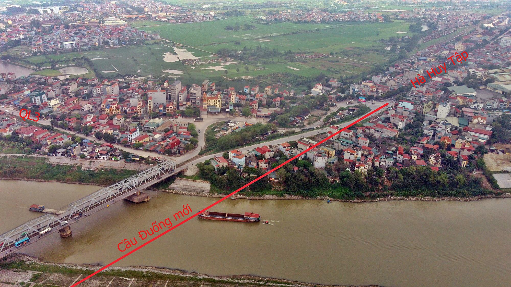 Cầu sẽ mở theo qui hoạch ở Hà Nội: Toàn cảnh vị trí làm cầu Đuống mới - Ảnh 6.