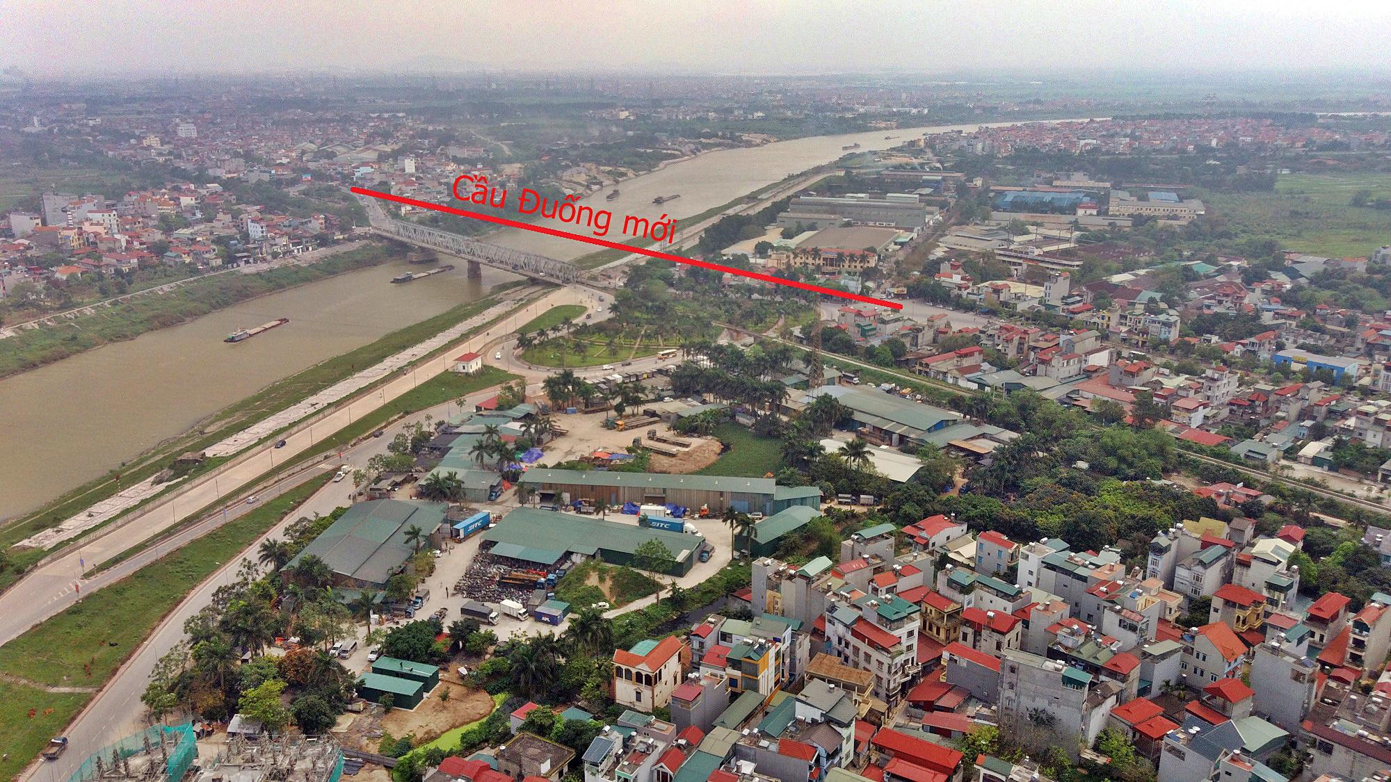 Cầu sẽ mở theo qui hoạch ở Hà Nội: Toàn cảnh vị trí làm cầu Đuống mới - Ảnh 10.
