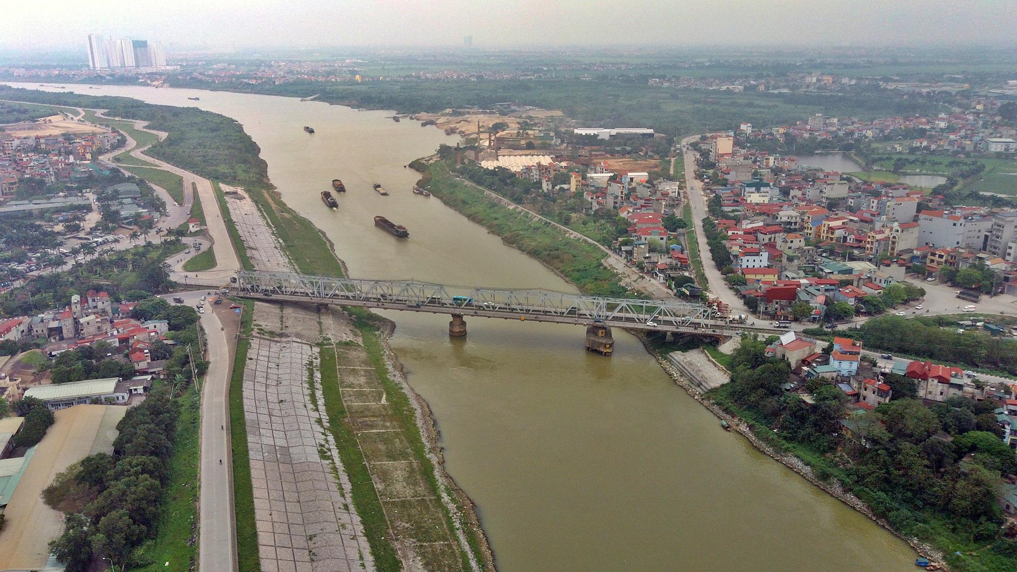 Cầu sẽ mở theo qui hoạch ở Hà Nội: Toàn cảnh vị trí làm cầu Đuống mới - Ảnh 11.