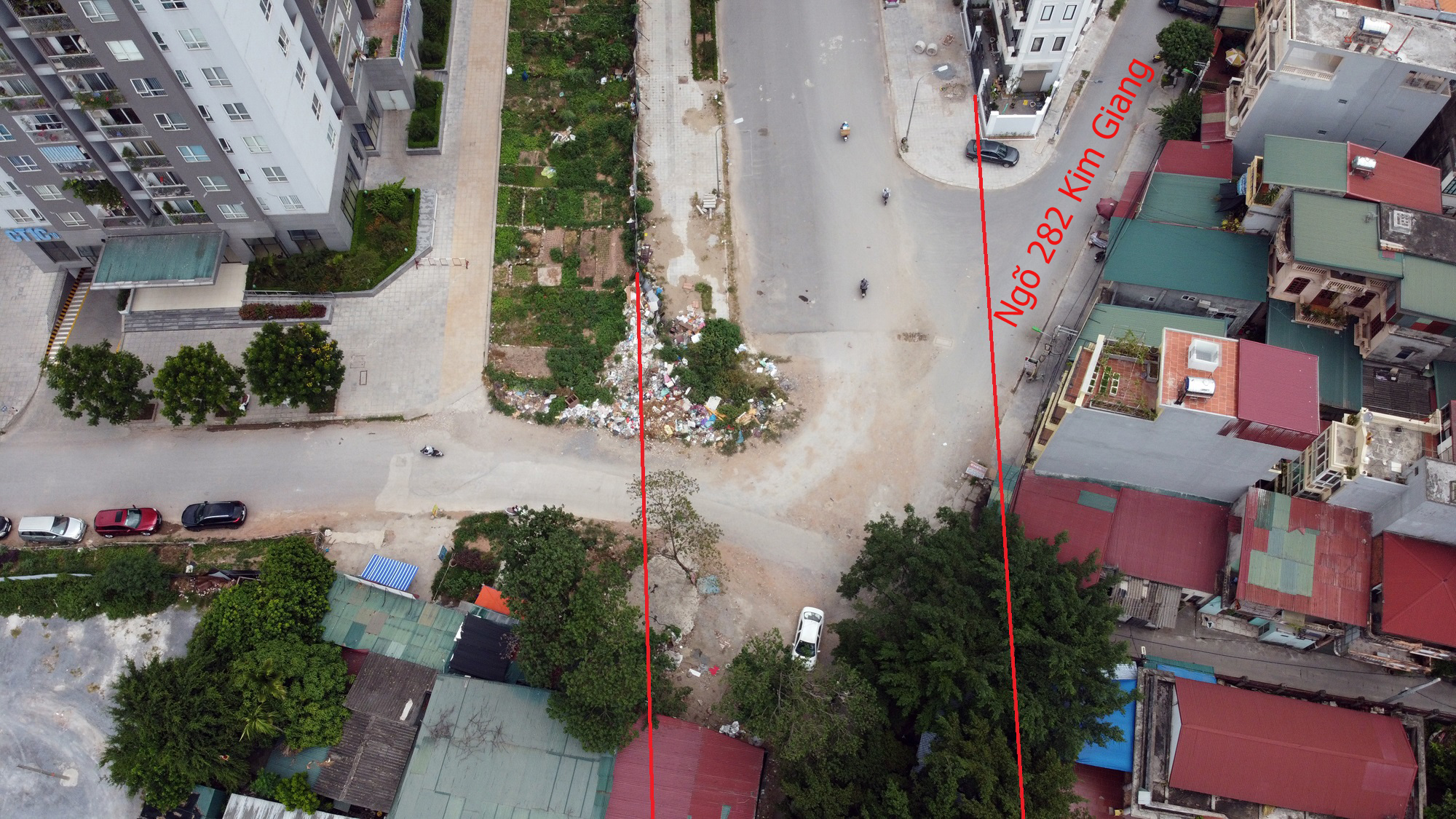 đường sẽ mở theo qui hoạch ở phường Đại Kim, Hoàng Mai, Hà Nội - Ảnh 4.