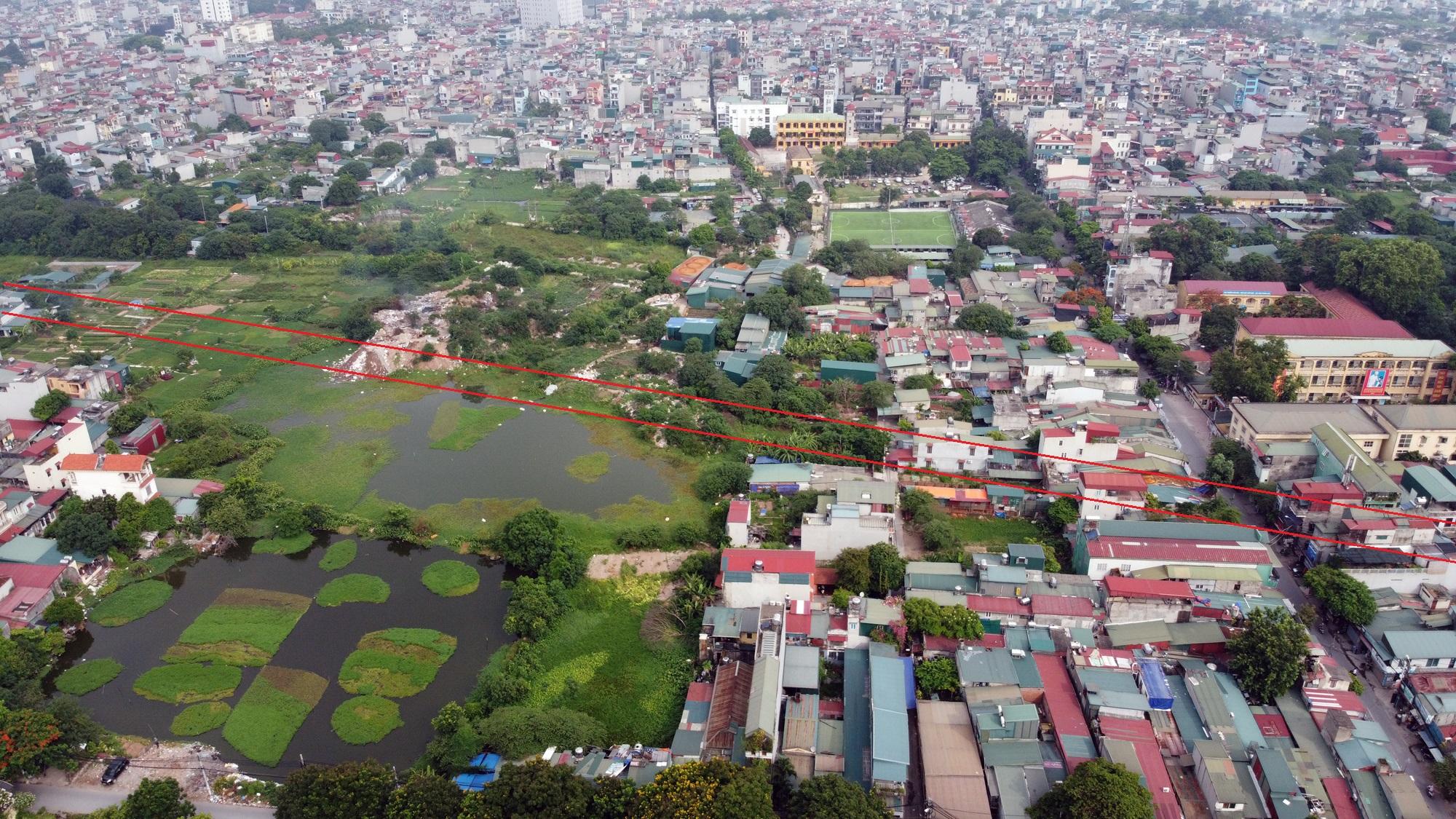 đường sẽ mở theo qui hoạch ở phường Định Công, Hoàng Mai, Hà Nội - Ảnh 5.
