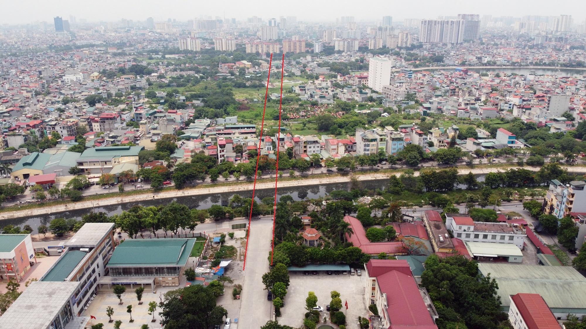 đường sẽ mở theo qui hoạch ở phường Định Công, Hoàng Mai, Hà Nội - Ảnh 6.