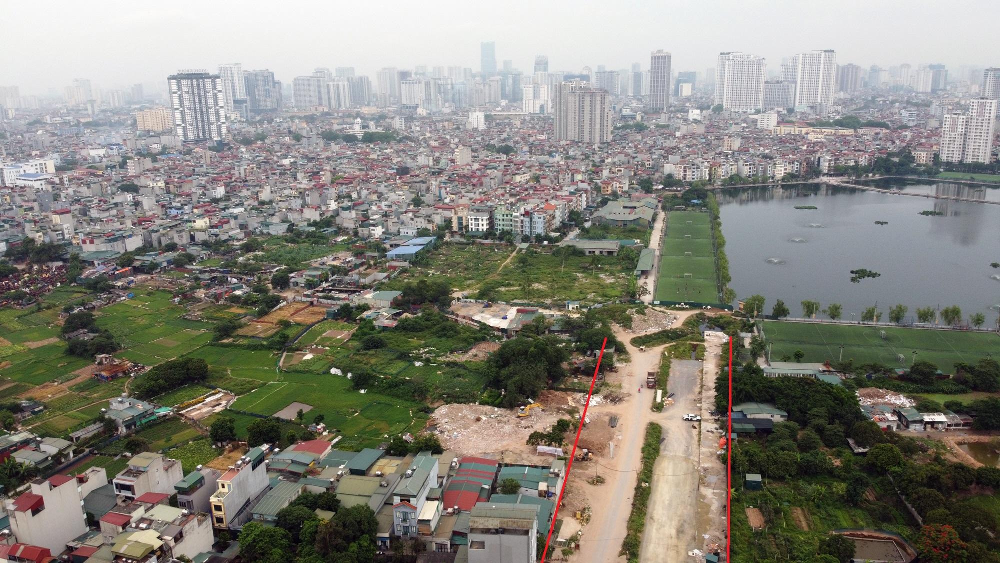 đường sẽ mở theo qui hoạch ở phường Định Công, Hoàng Mai, Hà Nội - Ảnh 8.