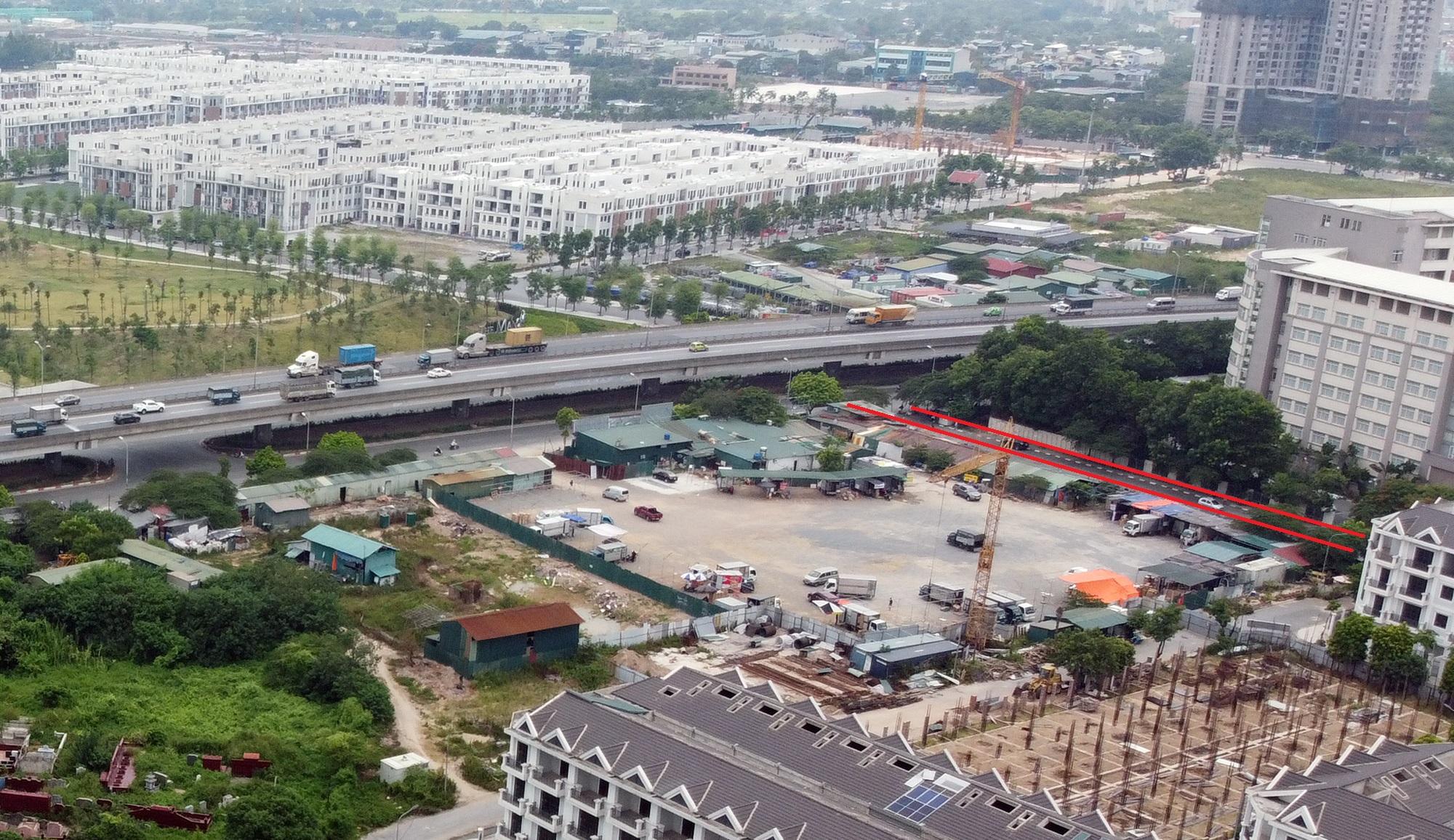 đường sẽ mở theo qui hoạch ở phường Đại Kim, Hoàng Mai, Hà Nội - Ảnh 17.