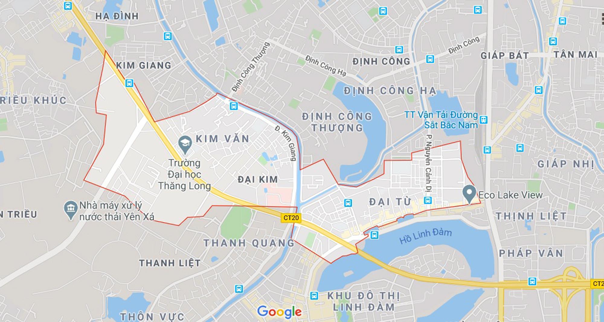 đường sẽ mở theo qui hoạch ở phường Đại Kim, Hoàng Mai, Hà Nội - Ảnh 1.