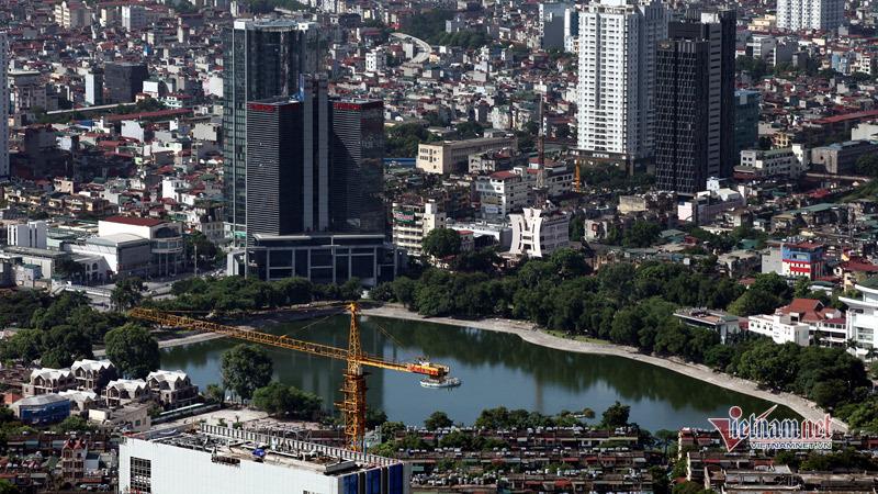 Sau đề xuất lấp hồ Thành Công, nhà đầu tư muốn dùng đất chợ xây chung cư - Ảnh 2.