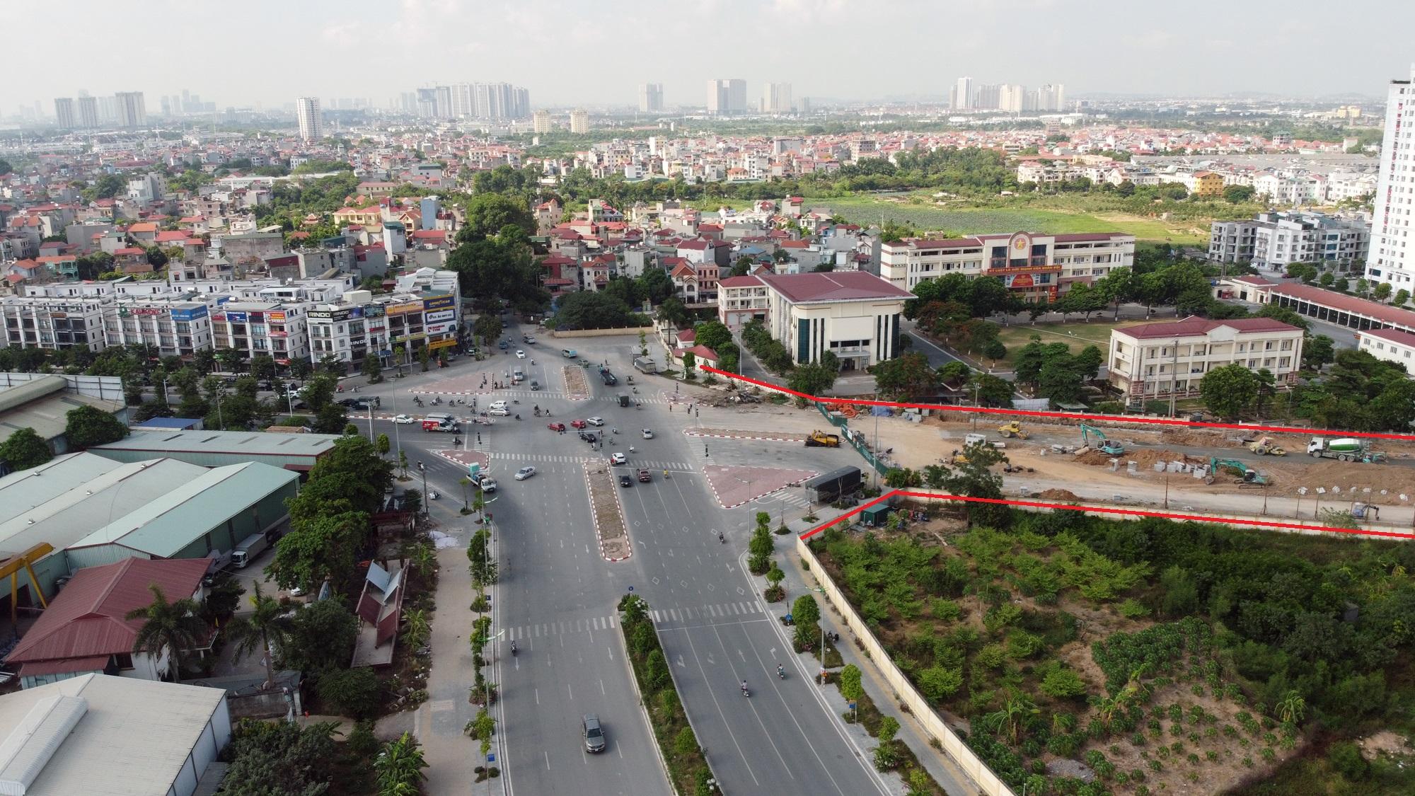 đường sẽ mở theo qui hoạch ở phường Phương Canh, Nam Từ Liêm, Hà Nội - Ảnh 3.
