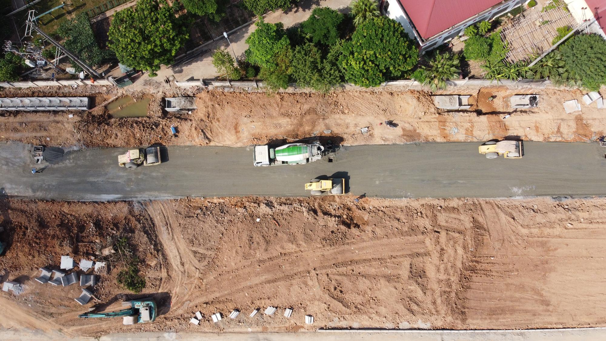 đường sẽ mở theo qui hoạch ở phường Phương Canh, Nam Từ Liêm, Hà Nội - Ảnh 5.