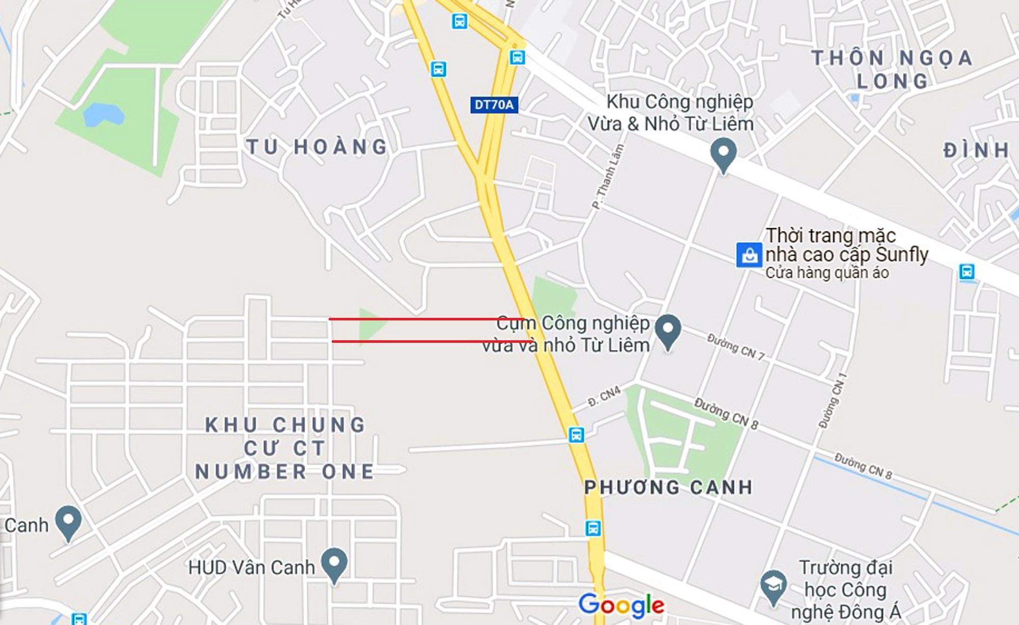 đường sẽ mở theo qui hoạch ở phường Phương Canh, Nam Từ Liêm, Hà Nội - Ảnh 7.