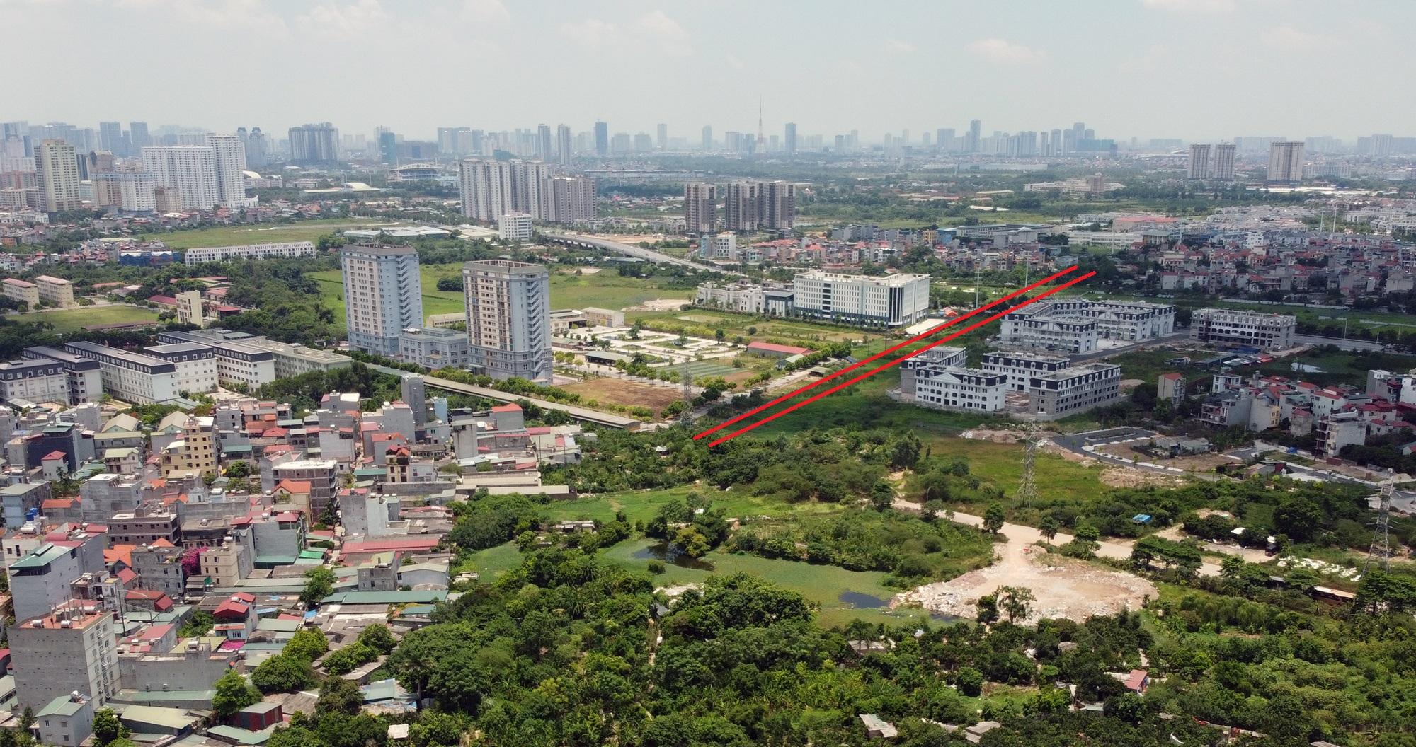 đường sẽ mở theo qui hoạch ở phường Phương Canh, Nam Từ Liêm, Hà Nội - Ảnh 14.