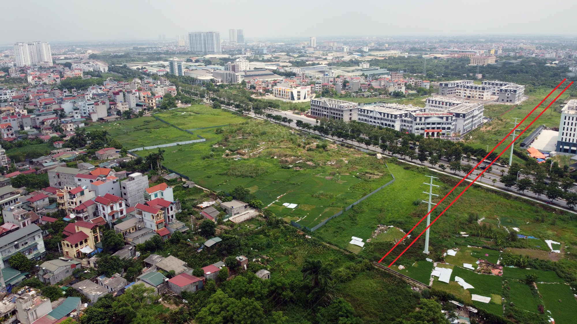 đường sẽ mở theo qui hoạch ở phường Phương Canh, Nam Từ Liêm, Hà Nội - Ảnh 16.