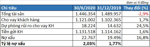 Nợ xấu tăng 17%, lợi nhuận 6 tháng trước thuế BIDV đạt 3.600 tỉ đồng - Ảnh 2.