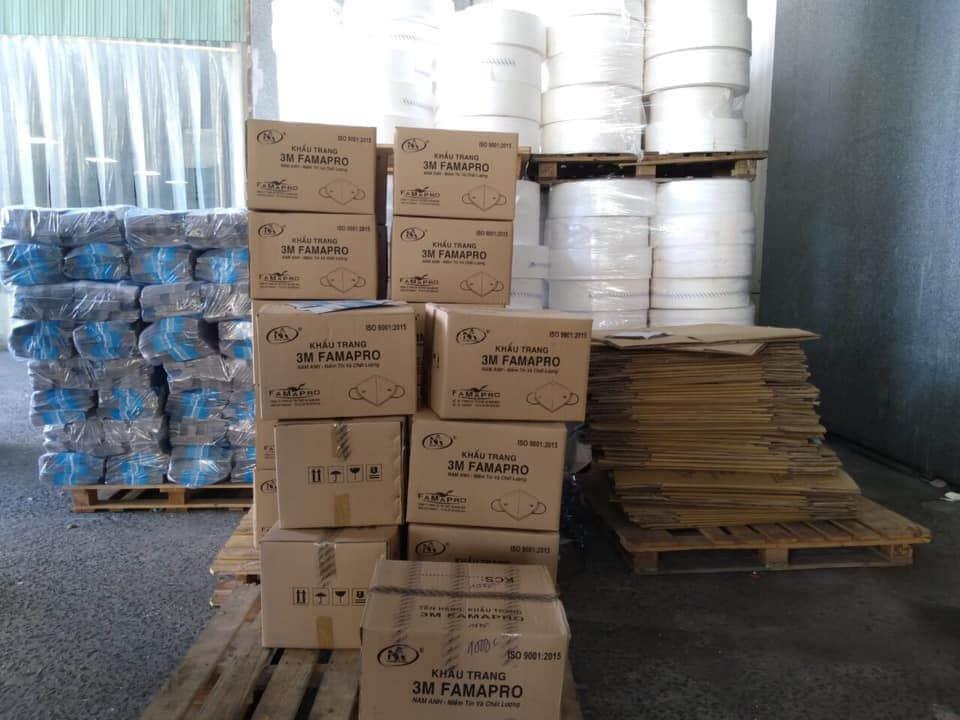 TP HCM thu giữ hàng trăm nghìn khẩu trang 3M giả - Ảnh 3.