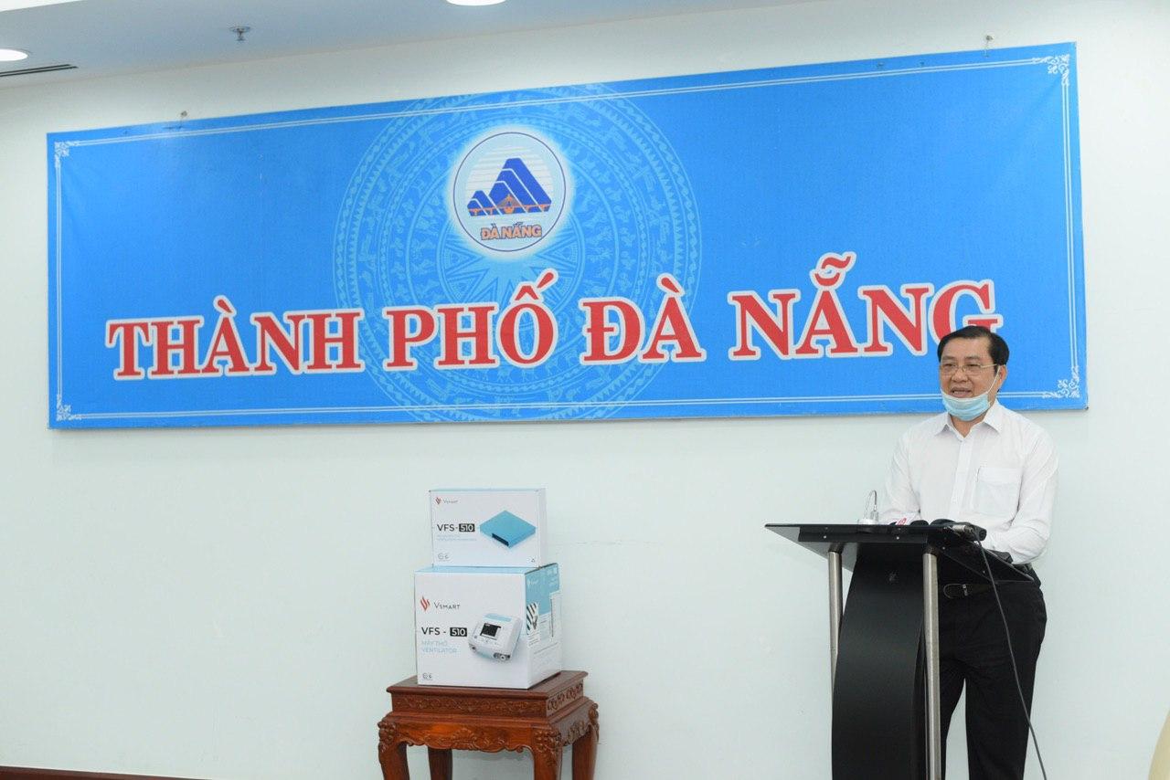 Cận cảnh 100 máy thở Vingroup đã trao tặng cho TP Đà Nẵng chống dịch COVID-10 chiều 31/7 - Ảnh 6.
