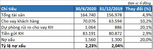Tín dụng tăng trưởng hơn 10%, MSB ghi nhận 974 tỉ đồng lãi trước thuế 6 tháng đầu năm - Ảnh 2.
