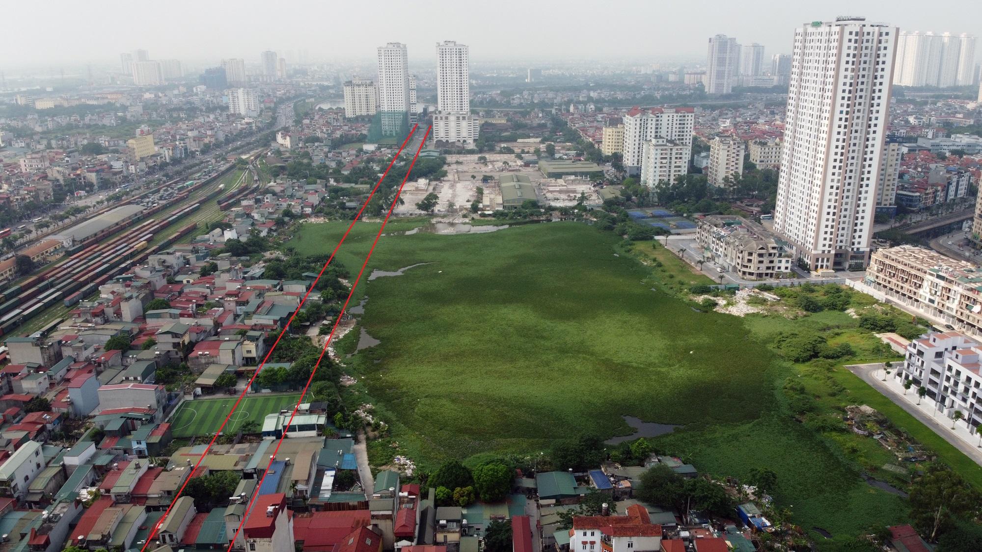 đường sẽ mở theo qui hoạch ở phường Giáp Bát, Hoàng Mai, Hà Nội - Ảnh 5.