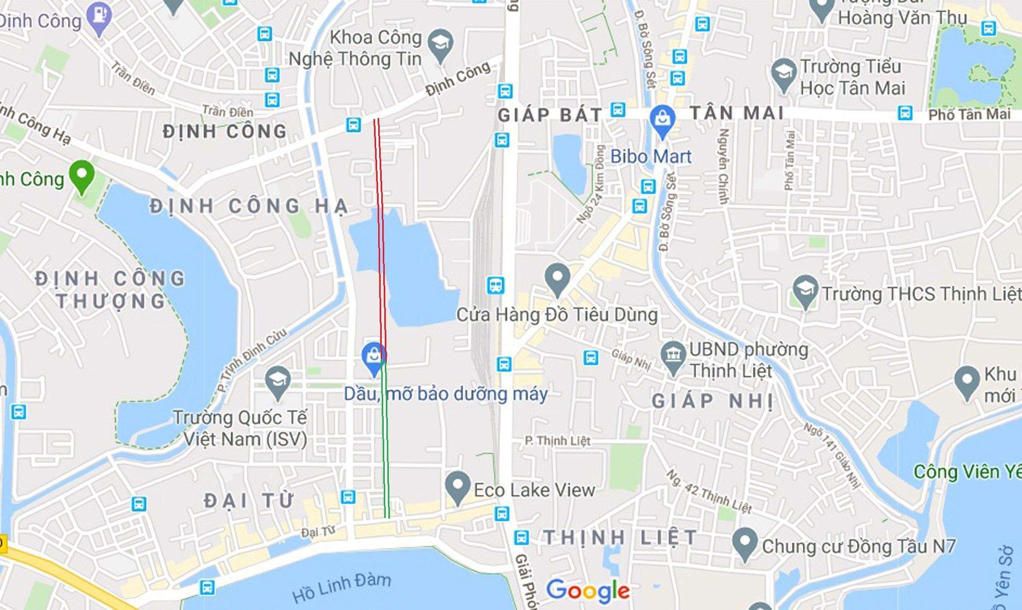 đường sẽ mở theo qui hoạch ở phường Định Công, Hoàng Mai, Hà Nội - Ảnh 13.