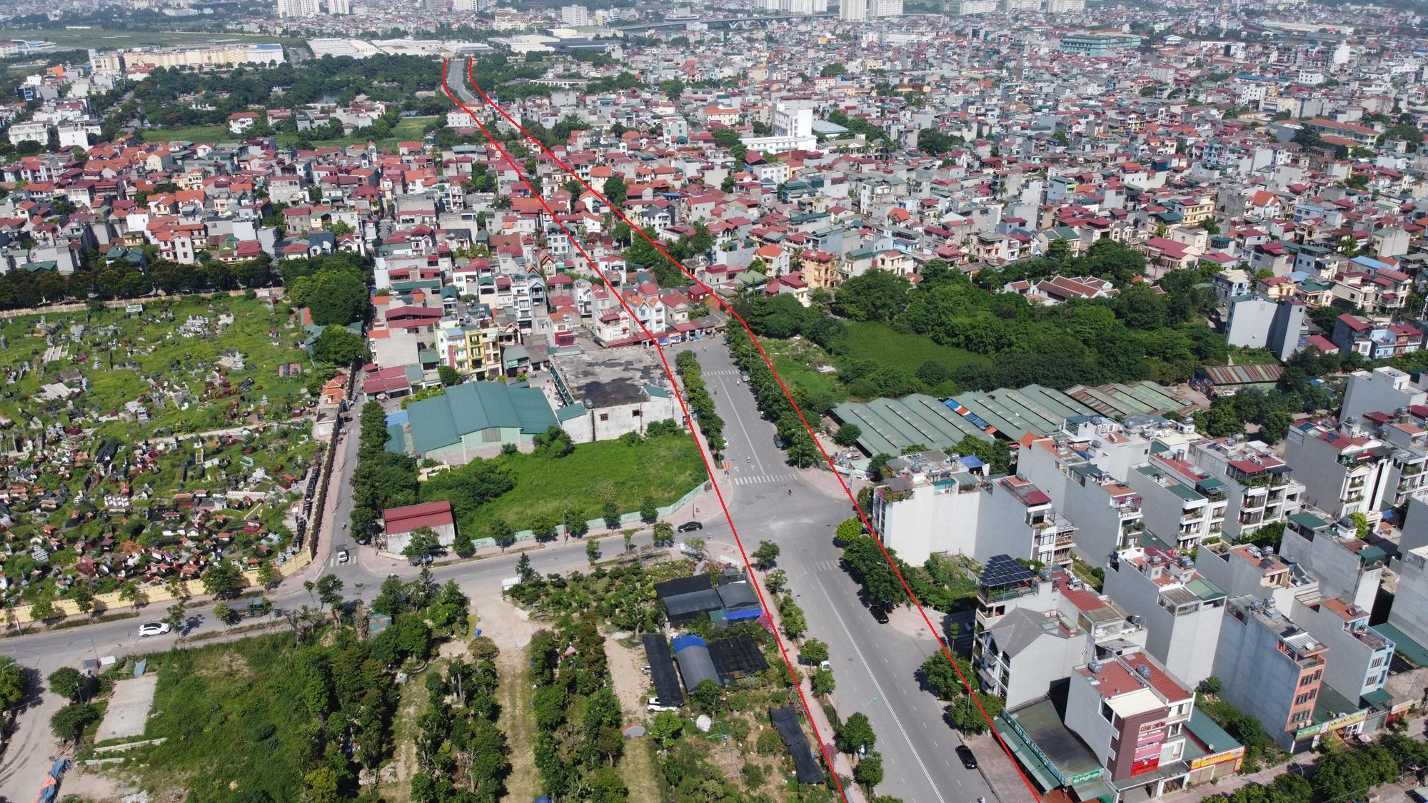 đường sẽ mở theo qui hoạch ở phường Việt Hưng, Long Biên, Hà Nội - Ảnh 4.