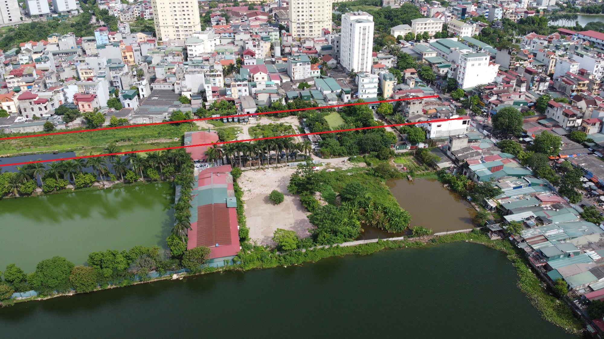 đường sẽ mở theo qui hoạch ở phường Trần Phú, Hoàng Mai, Hà Nội - Ảnh 3.