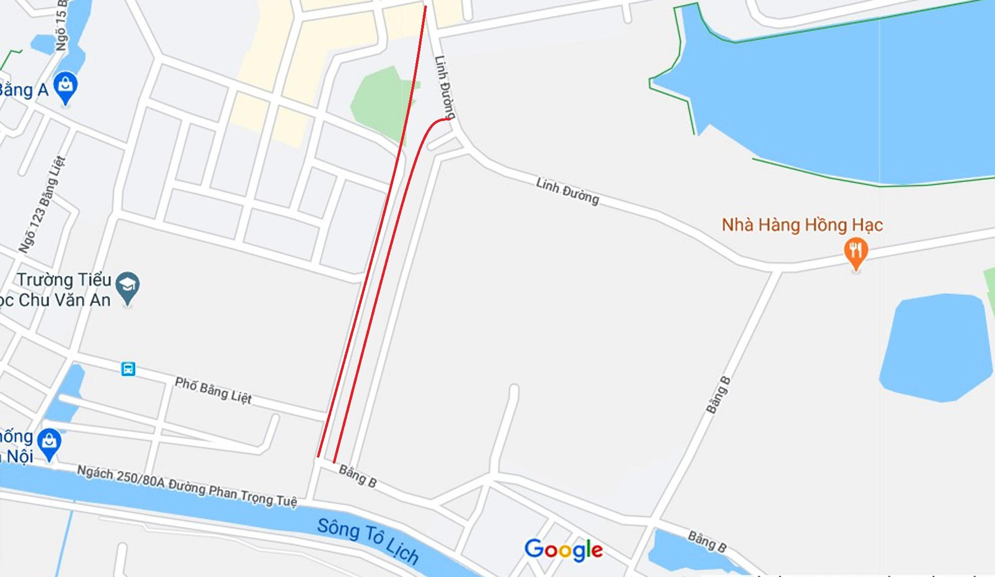 Ba đường sẽ mở theo qui hoạch ở phường Hoàng Liệt, Hoàng Mai, Hà Nội - Ảnh 2.