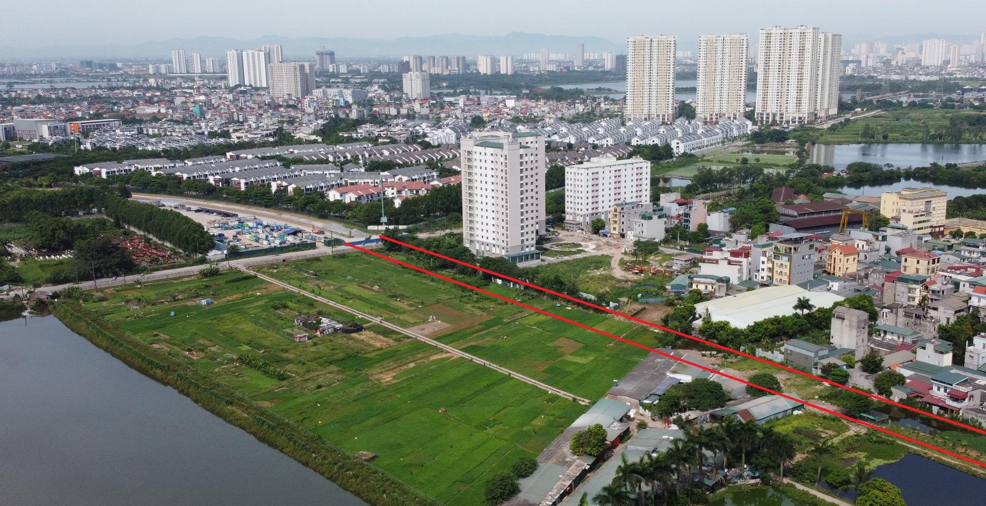 đường sẽ mở theo qui hoạch ở phường Trần Phú, Hoàng Mai, Hà Nội - Ảnh 4.