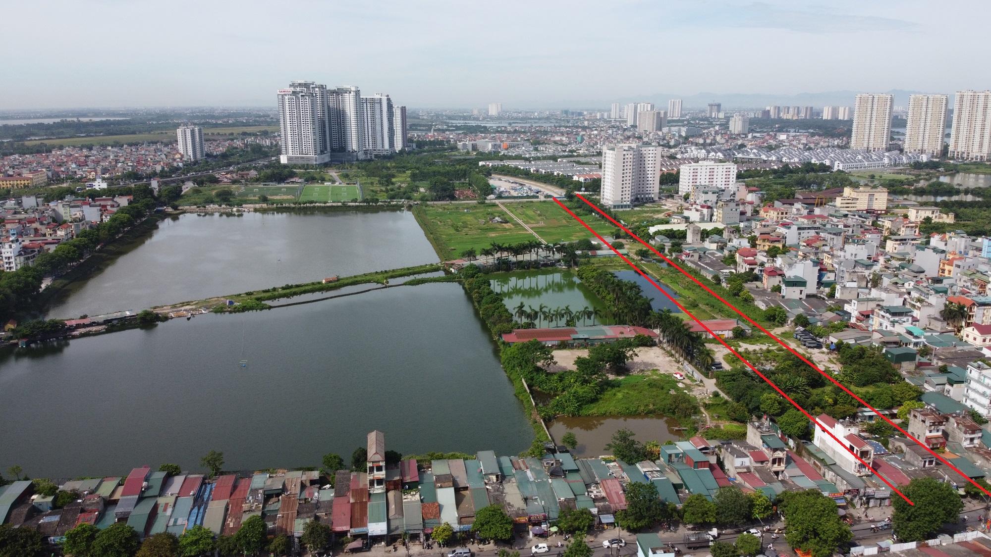 đường sẽ mở theo qui hoạch ở phường Trần Phú, Hoàng Mai, Hà Nội - Ảnh 5.