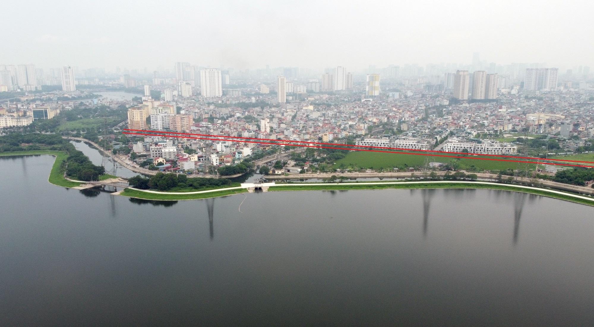 Ba đường sẽ mở theo qui hoạch ở phường Thịnh Liệt, Hoàng Mai, Hà Nội - Ảnh 6.