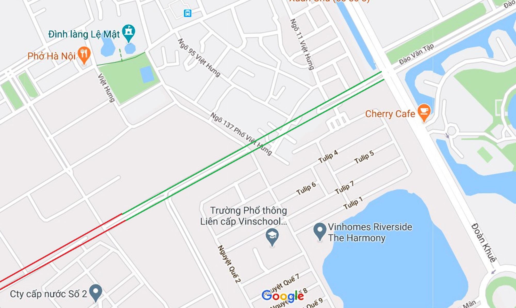đường sẽ mở theo qui hoạch ở phường Việt Hưng, Long Biên, Hà Nội - Ảnh 7.