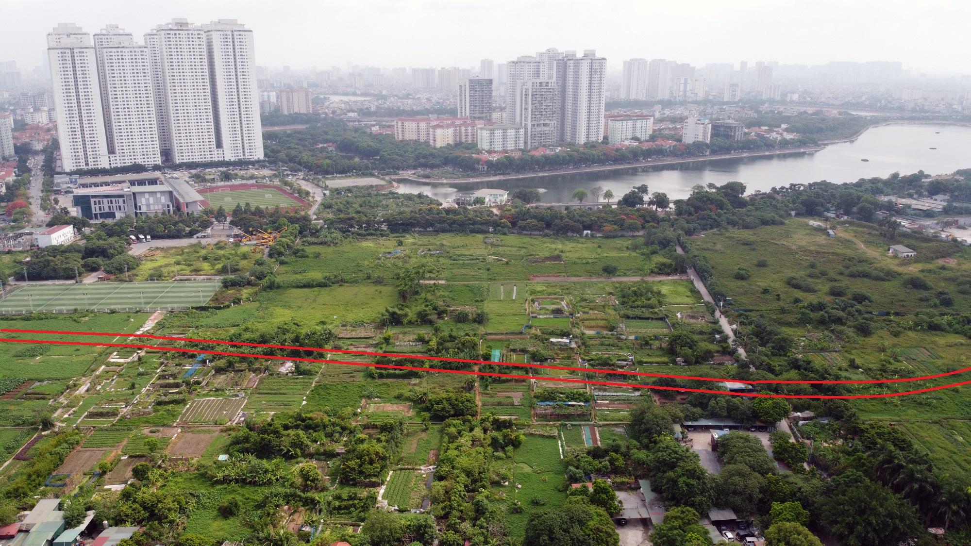 Ba đường sẽ mở theo qui hoạch ở phường Hoàng Liệt, Hoàng Mai, Hà Nội - Ảnh 8.