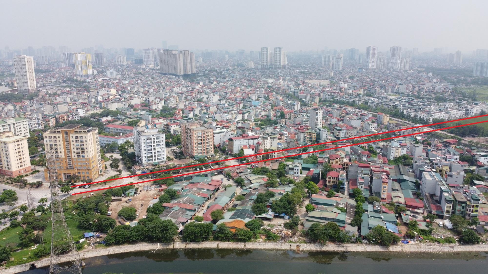 Ba đường sẽ mở theo qui hoạch ở phường Thịnh Liệt, Hoàng Mai, Hà Nội - Ảnh 7.
