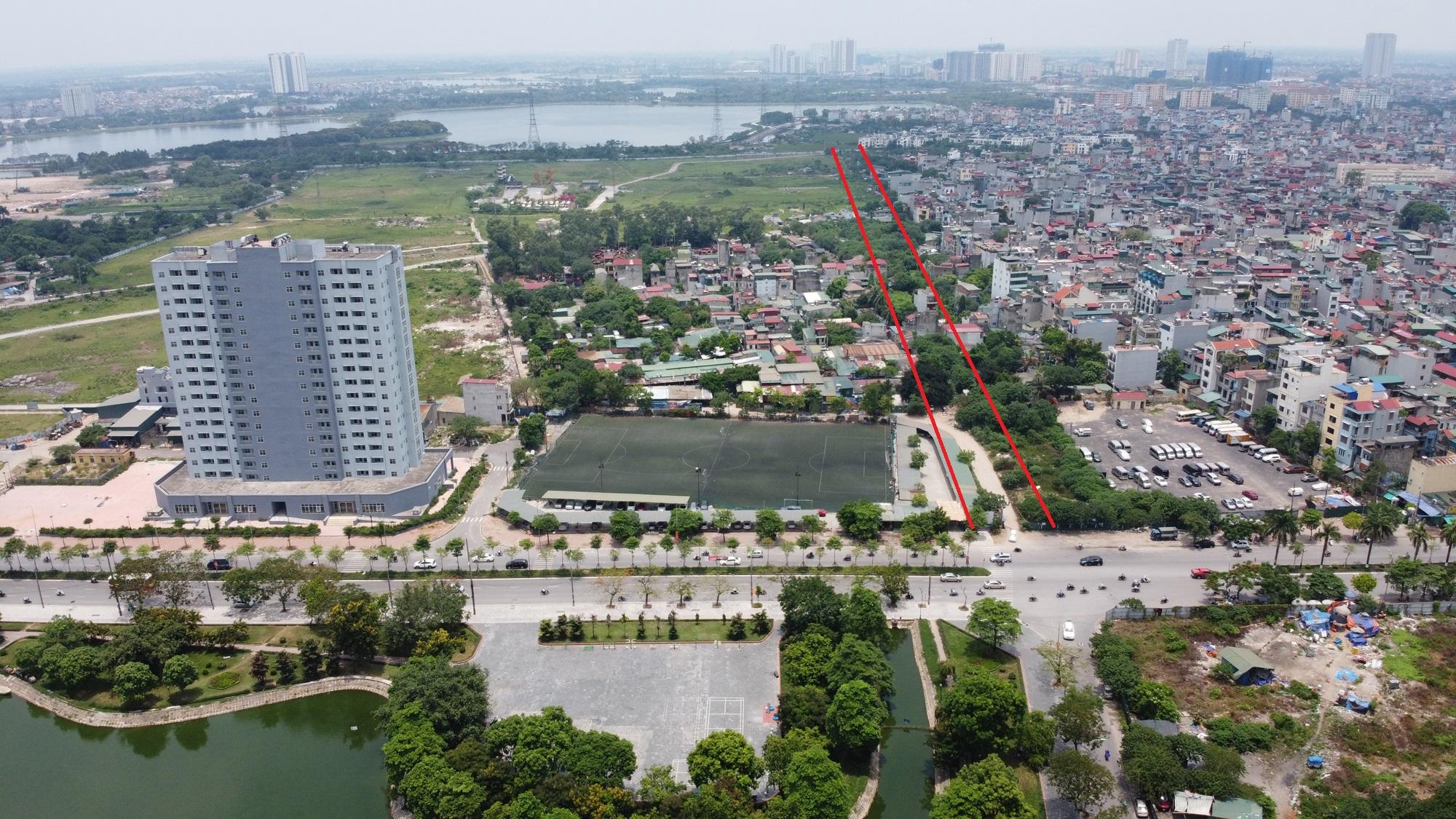 Ba đường sẽ mở theo qui hoạch ở phường Thịnh Liệt, Hoàng Mai, Hà Nội - Ảnh 10.