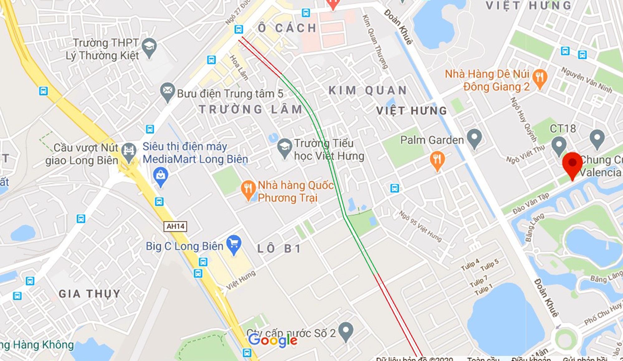 đường sẽ mở theo qui hoạch ở phường Việt Hưng, Long Biên, Hà Nội - Ảnh 10.