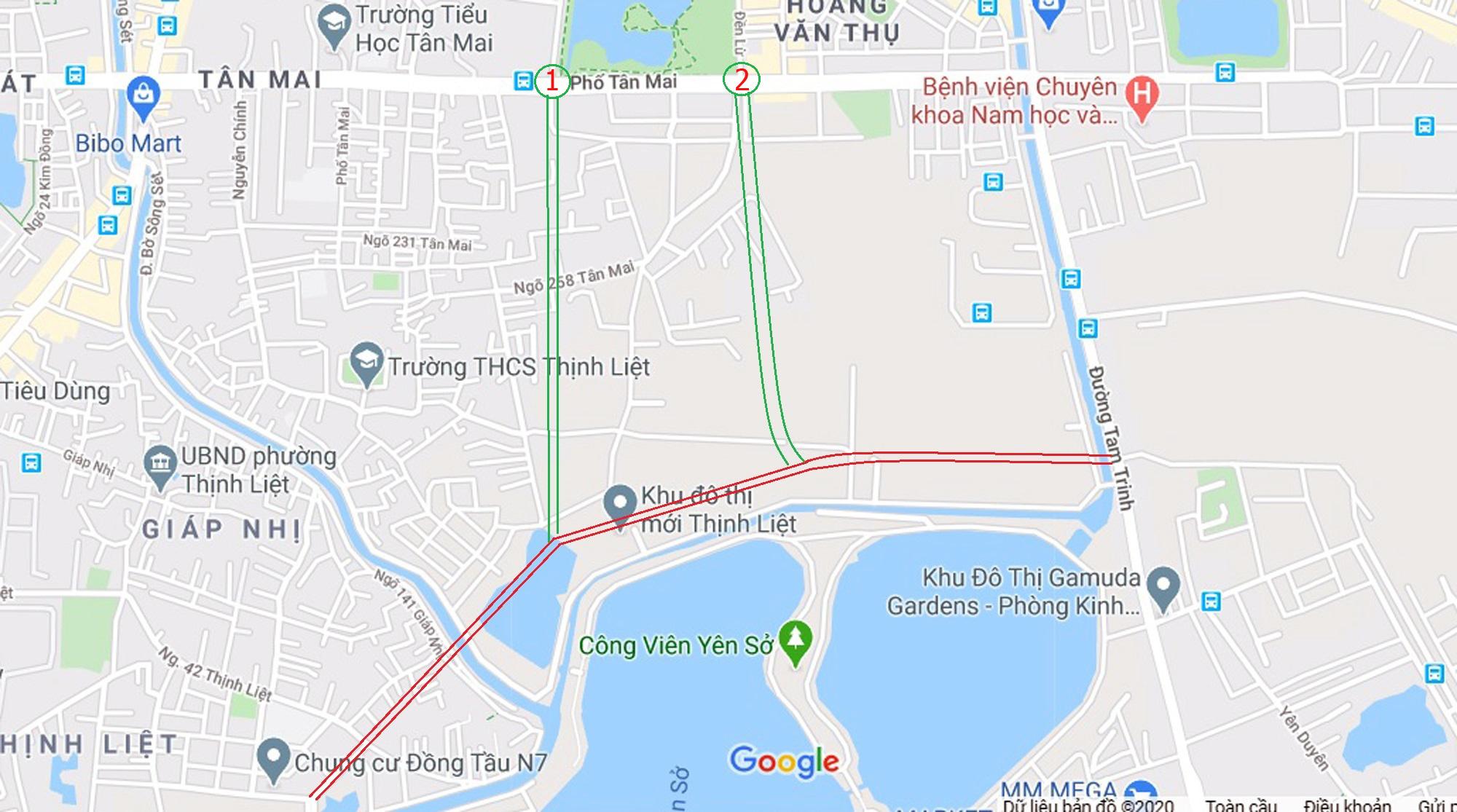 Ba đường sẽ mở theo qui hoạch ở phường Thịnh Liệt, Hoàng Mai, Hà Nội - Ảnh 9.