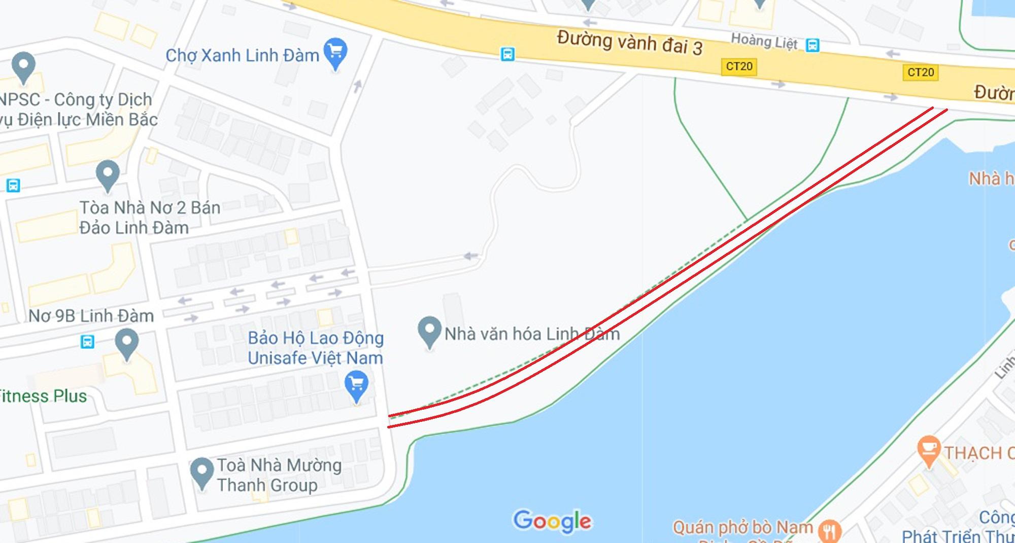 4 đường sẽ mở theo qui hoạch ở phường Hoàng Liệt, Hoàng Mai, Hà Nội - Ảnh 15.