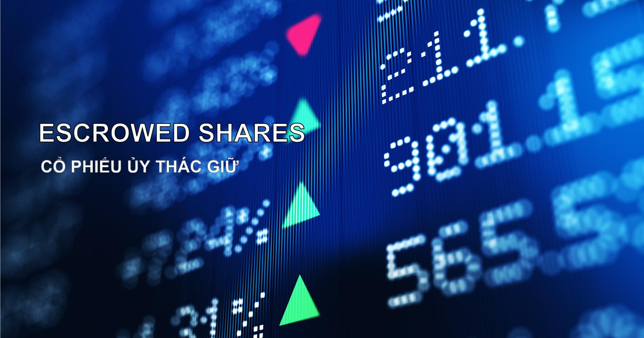 Cổ phiếu ủy thác giữ (Escrowed Shares) là gì? Đặc điểm và ví dụ - Ảnh 1.